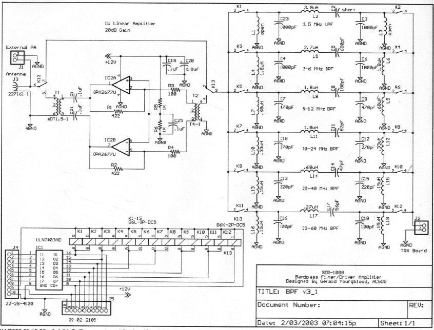 bandpass filter  bandpass filter diagram